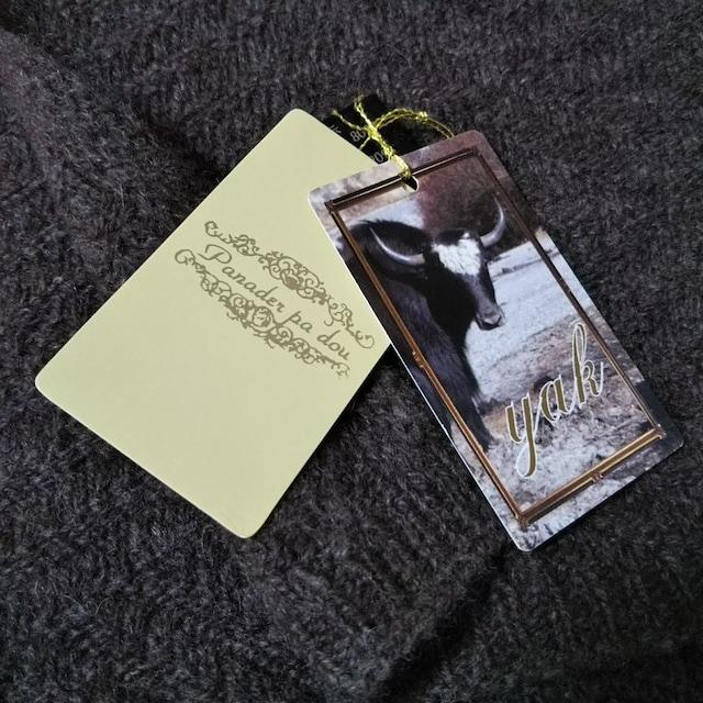 新品タグ付き★パナーデパドゥ★オーロラ★ヤクの毛のマフラー < 男性ファッションの