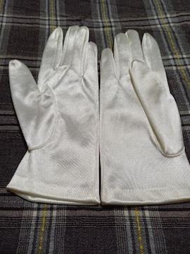 �S 光沢のある手袋