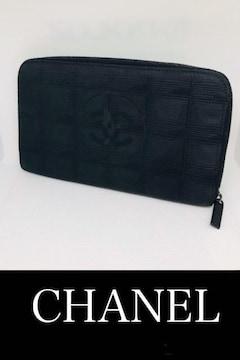◆正規品◆ 超美品 ◆ シャネル ニュートラベル ジッピー長財布