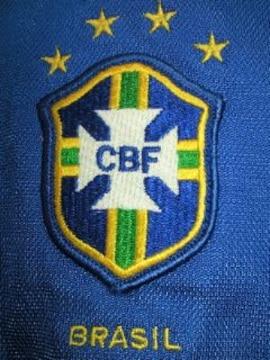 NIKE ナイキ サッカー ブラジル 代表 ユニフォーム ブルー Mサイズ