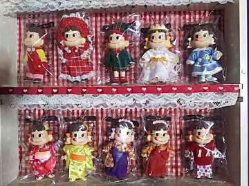 アイドルペコちゃん '05 全10種 コレクションケース 新品同様
