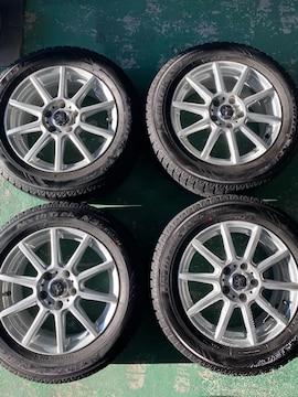 1082733)激安国産オ-トバックススタッドレスタイヤ美品AWセット205/60R16送料無料