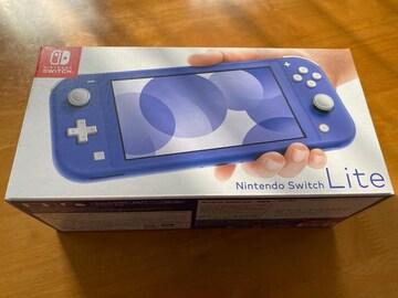 未使用☆Nintendo Switch Lite本体 ブルー スイッチライト