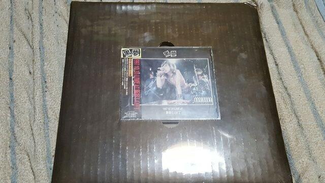 黒夢 1997 10.31 LIVE AT 新宿LOFT 限定盤 未開封  < タレントグッズの