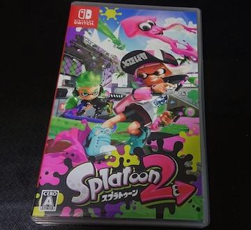 即決◆Nintendo Switch Splatoon 2 スプラトゥーン2