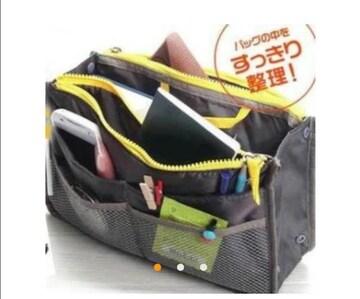 新品 バッグインバッグ カバンの中の整理整頓に最適