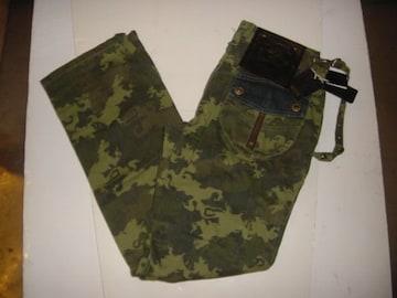 新品!デザイン迷彩パンツ・GF&Eキムタク