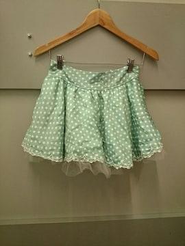 TRALALA☆ドット柄スカート