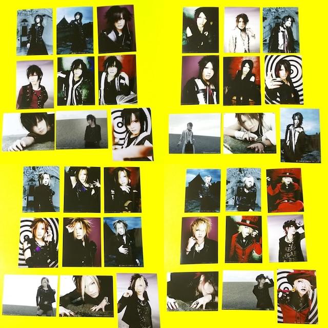 レア★The GazettEFC★ファンクラブ限定物販写真45枚ルキ-れいた-麗-葵 < タレントグッズの