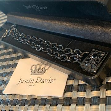 新品◆JUSTIN DAVIS×土屋アンナ◆LOCK ME UP NECKLACE◆36cm◆