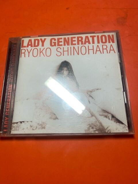 篠原涼子 CD LADY GENERATION  < タレントグッズの