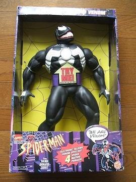 全高約40cm難アリ トーキングヴェノムフィギュア スパイダーマンアメコミ