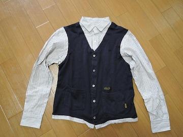 ネイバーフッドNEIGHBORHOODチャンネル7ニットベストシャツS