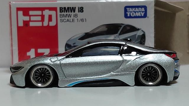 トミカ改・BMW・i8