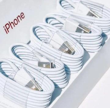 ライトニングケーブル 充電ケーブル iPhone スマホ 5本