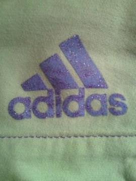 adidas アディダス ミニ ポーチ ラメ バッグ BAG パープル