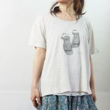 Sun valleyサンバレーやわらか天竺コットンゆったり半袖Tシャツ
