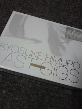 即決〓送料込み〓氷室京介 LAST GIGS DVD 初回限定BOX