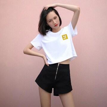 夏の半袖の女子学生韓版の上着の女ins潮