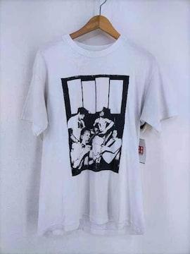 USED古着(ユーズドフルギ)90~00S プリントTシャツクルーネックTシャツ