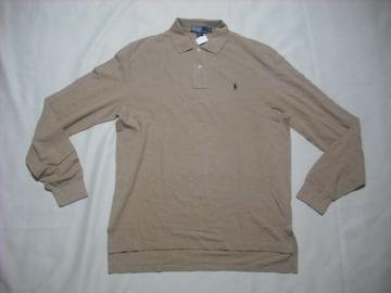 91 男 POLO RALPH LAUREN ラルフローレン 長袖ポロシャツ L