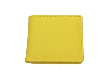イタリア製サフィアーノレザースタイリッシュ 折財布!LP-1002