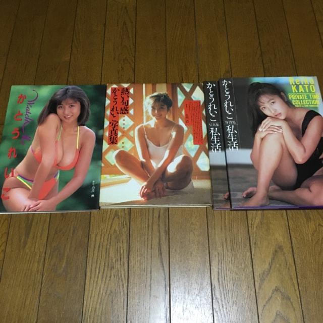 かとうれいこ 写真集3種 4冊 グラドル ダイナマイトボディ 水着  < タレントグッズの
