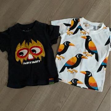 半袖Tシャツ2枚まとめ売り80