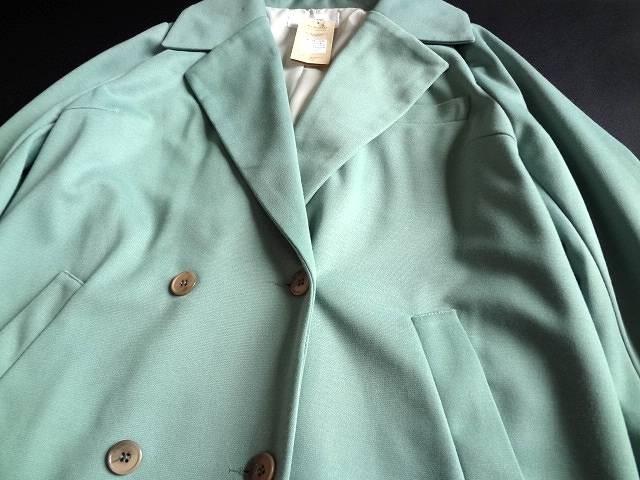 新品 monomori 黄緑 レディース コート 秋 冬 グリーン < 女性ファッションの