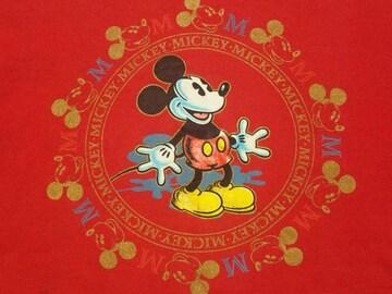 #オールド¶Disney[ディズニー]★ミッキースウェットトレーナー M相当/送料¥260〜