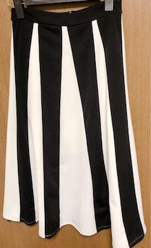 �Fスカート 白黒