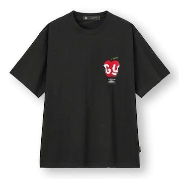 新品タグ付 GU ジーユー アンダーカバー ビッググラフィックt メンズ XL 黒