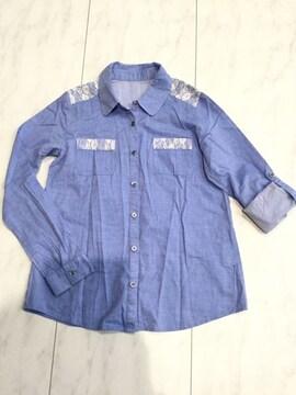 Rew de Rew レース付きシャツ ルーデルー サイズ38