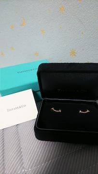 TIFFANY Tスマイル ピアス 新品 ティファニー 正規品 ダイヤ