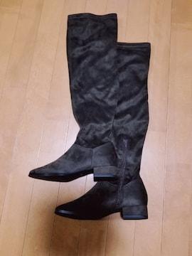◆ローヒールロングブーツ◆