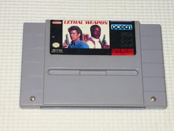 SFC★LETHAL WEAPON SNES 海外版 端子清掃済み