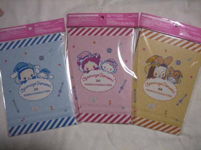 おジャ魔女どれみ×サンリオ オリジナルA5ノート 全3種セット < アニメ/コミック/キャラクターの