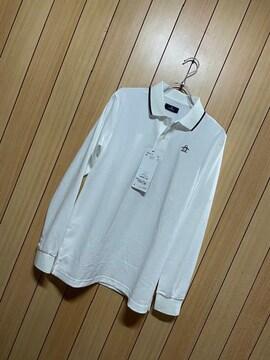 1.3万新品タグ付きMunsingwear★ホワイトポロシャツ