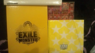 激レア!☆EXILE/LIVETOUR2009☆DVD付きパンフレット+エコパック+ポスター+ステッカー