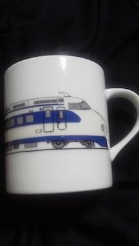 鉄道 日本車両 限定 0系 新幹線 イラスト デザイン マグカップ コップ ノリタケ