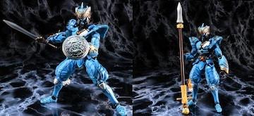 内袋未開封 鬼武者 武器コレクション 月形十字槍+グラディウス