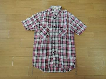 ヒステリックグラマーHYSTERIC GLAMOURリネンチェックシャツS麻