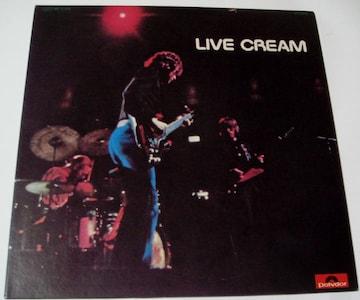 クリーム『ライヴ・クリーム』初回発売LP全5曲