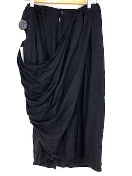 B yohji yamamoto(ビーヨウジヤマモト)DRAPE SKIRT PANTSスカート