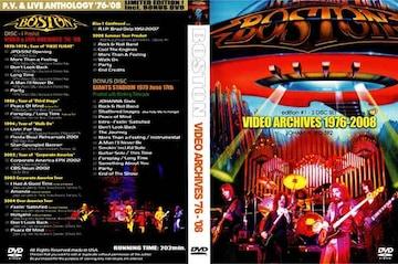 BOSTON 1976-2008 プロモPV集&ライヴ集 2DVD 決定版!ボストン