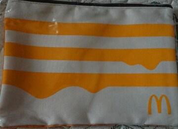 マクドナルド 福袋 2021 ポーチ 黄色 コールマン 小物入れ