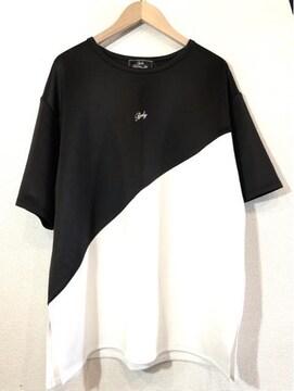 Rady■Tシャツ■ビッグシルエット■ワンポイント■レディー白黒