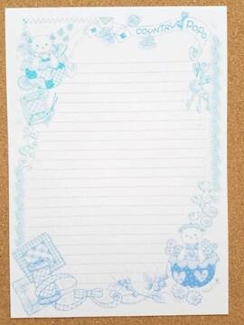 オリジナル便せん《R》★手描きイラスト便せん★カントリー系★B5サイズ15枚
