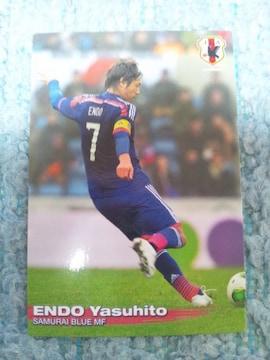 2014 カルビー日本代表カード 第一弾  20 遠藤 保仁