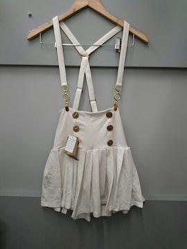 d.i.a☆サスペンダー付きプリーツスカパン